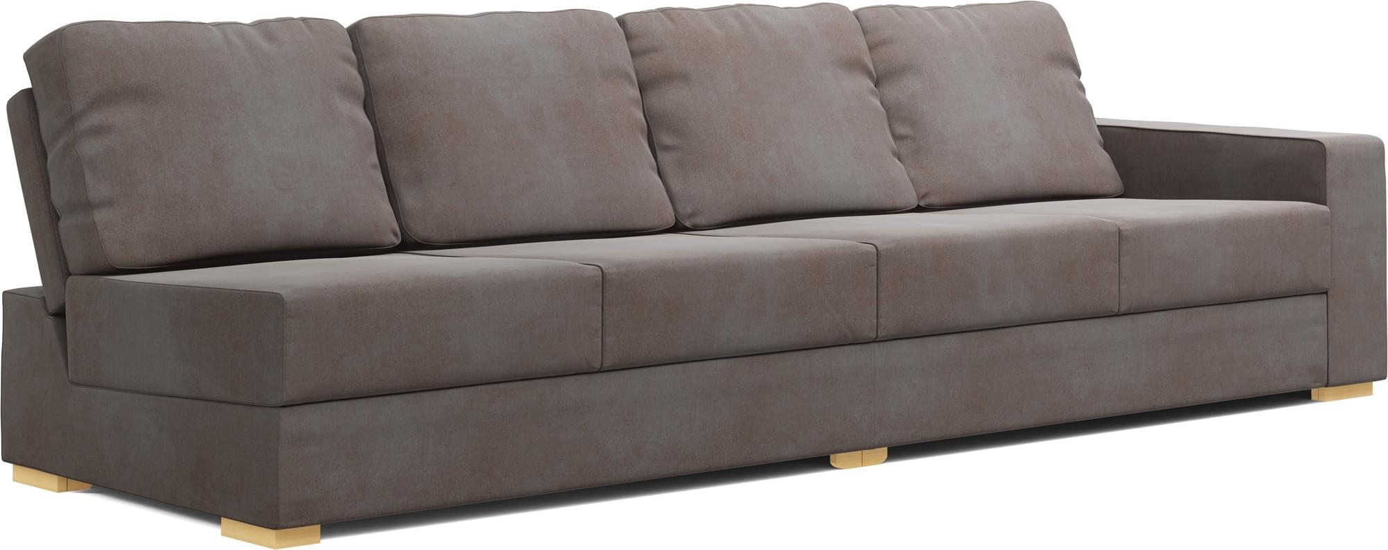 armless armchairs uk revolving chair manufacturer alda one 4 seat sofa - sofas   nabru