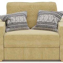 Single Chair Sofa Beds Organic Armchair Nabru Ula Bed