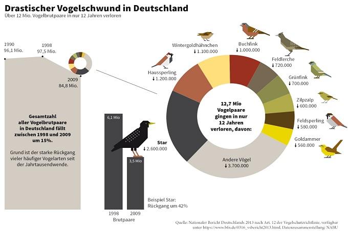 Drastisches Vogelsterben in Deutschland - Foto: NABU