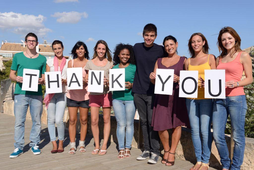 group-saying-thank-you