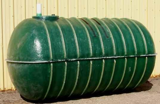 Fiberglass cistern