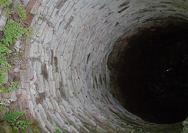 Wells present a fall hazard