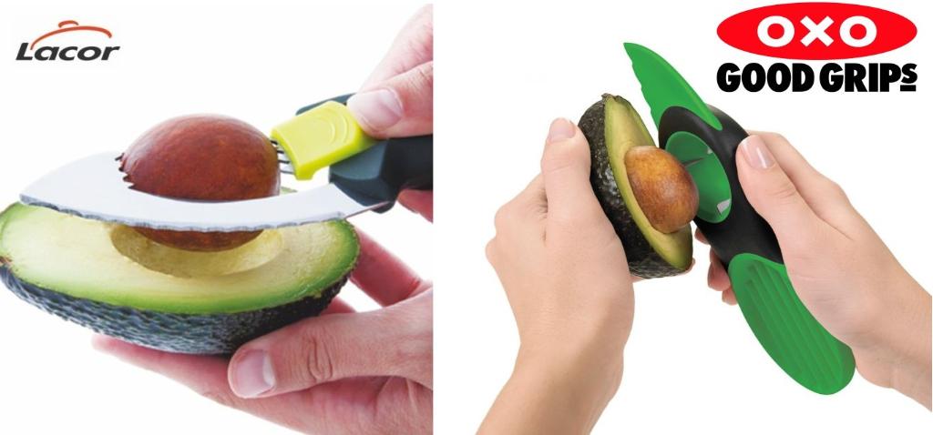 Los instrumentos de Lacor y OXO permiten sacar el hueso de diferente forma, tienen diferentes affordances.