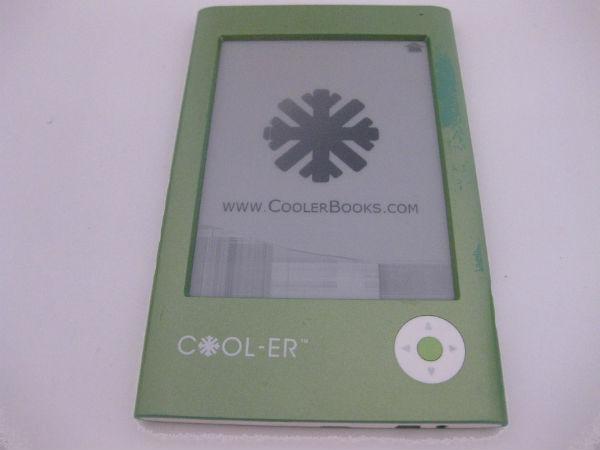 Lector electrónico ereader Cooler