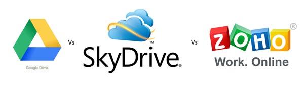 google drive vs ksydrive vs zoho