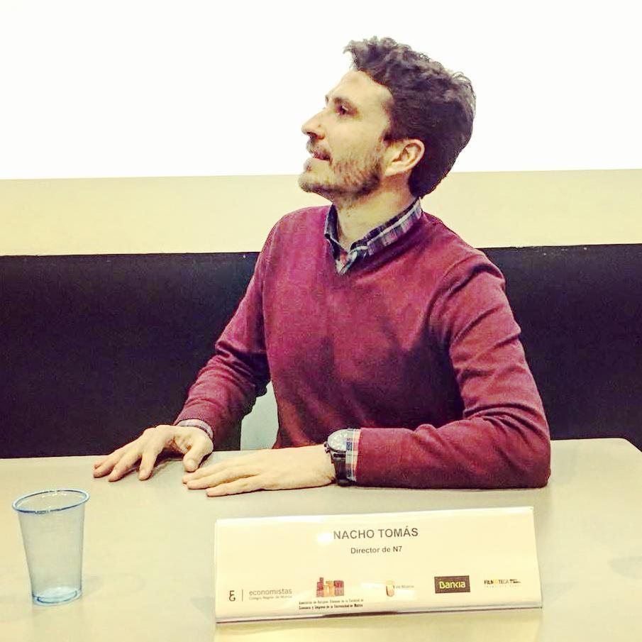 Nacho Tomás - Ciclo Economía y Cine en la Filmoteca de Murcia – #economiaycine - Filmoteca Murcia - Economistas Murcia