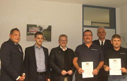 20 Jahre Sicherheitswacht in Schwandorf