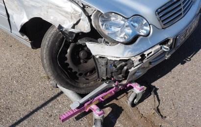 Verkehrsunfall im Gegenverkehr