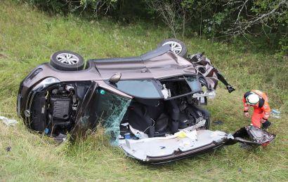 Schwerer Verkehrsunfall mit mehreren Verletzten bei Vilseck