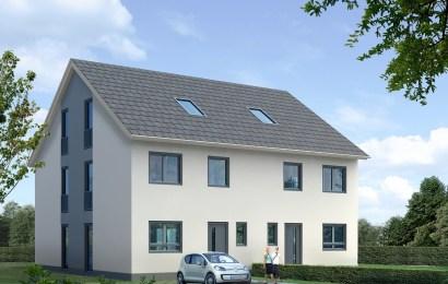 Symbolbild: Doppelhaus