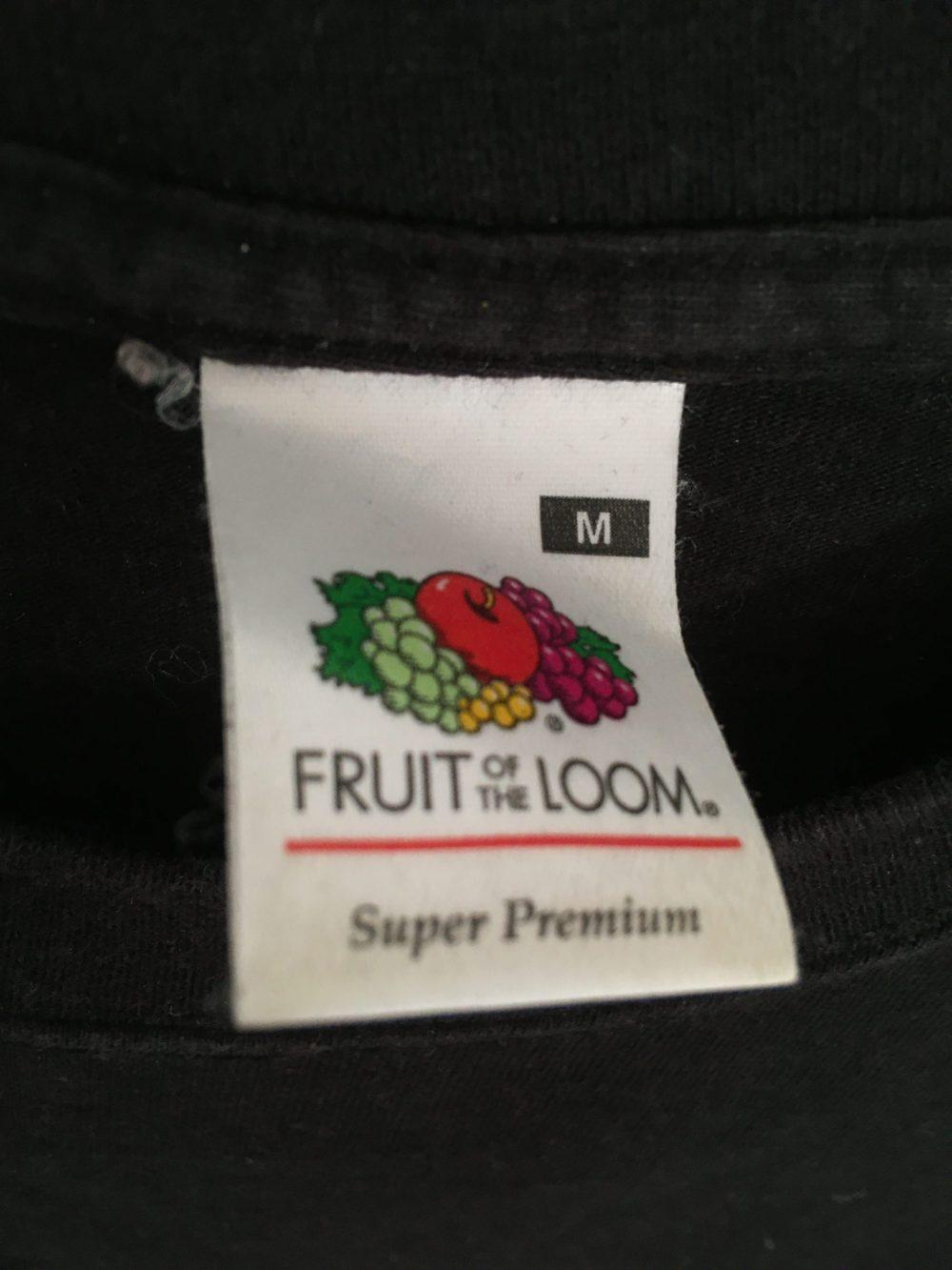 Fruit Of The Loom Super Premium Label