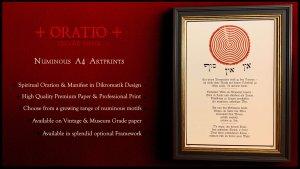 Nachtgnosis Artprints Oratio Series available now