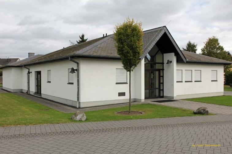 Die Gemeindehalle