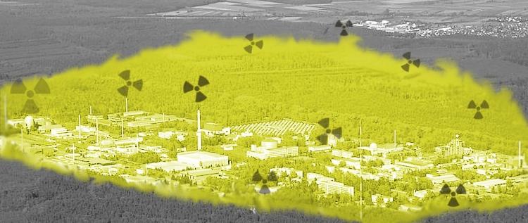 Ehemaliges Kernforschungszentrum Karlsruhe