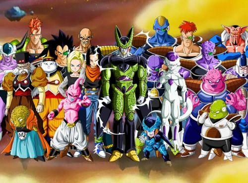 ¿Cual villano de Dragon Ball z eres? Descúbrelo