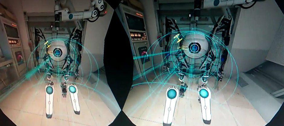 Valve portal VR