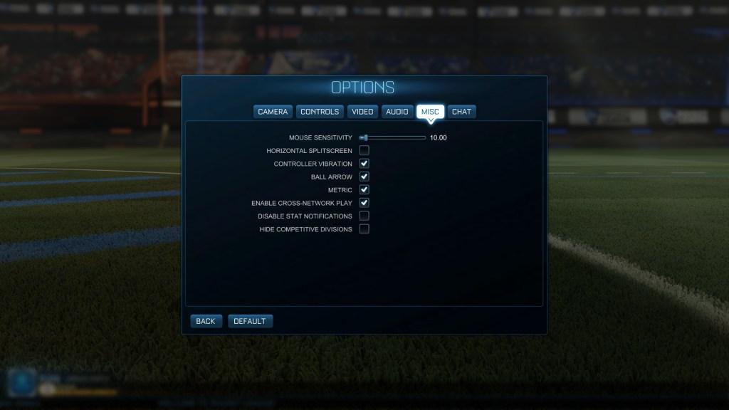 Rocket League Cross-Network