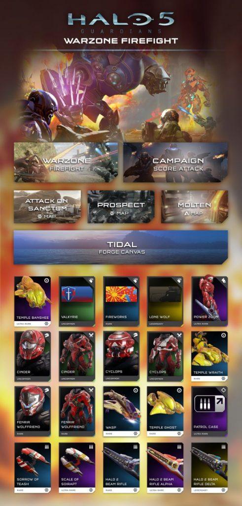 Halo 5 Guardians Warzone Firefight
