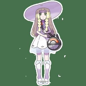 Pokémon Sol y Luna lillie