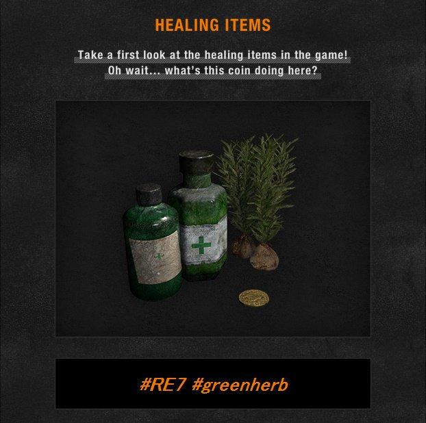 Resident Evil 7 Hierba verde
