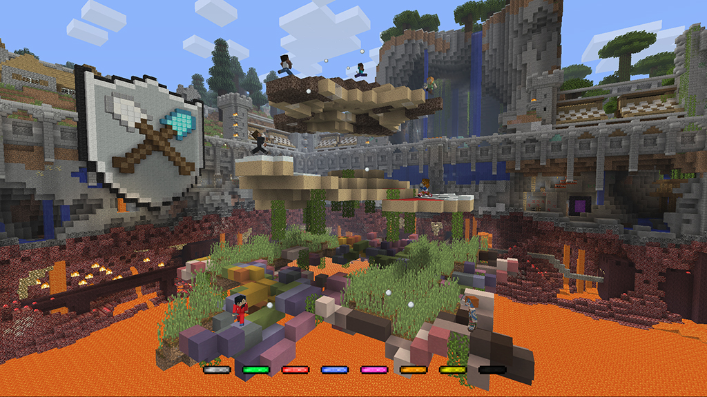 Minecraft Console Edition Tumble