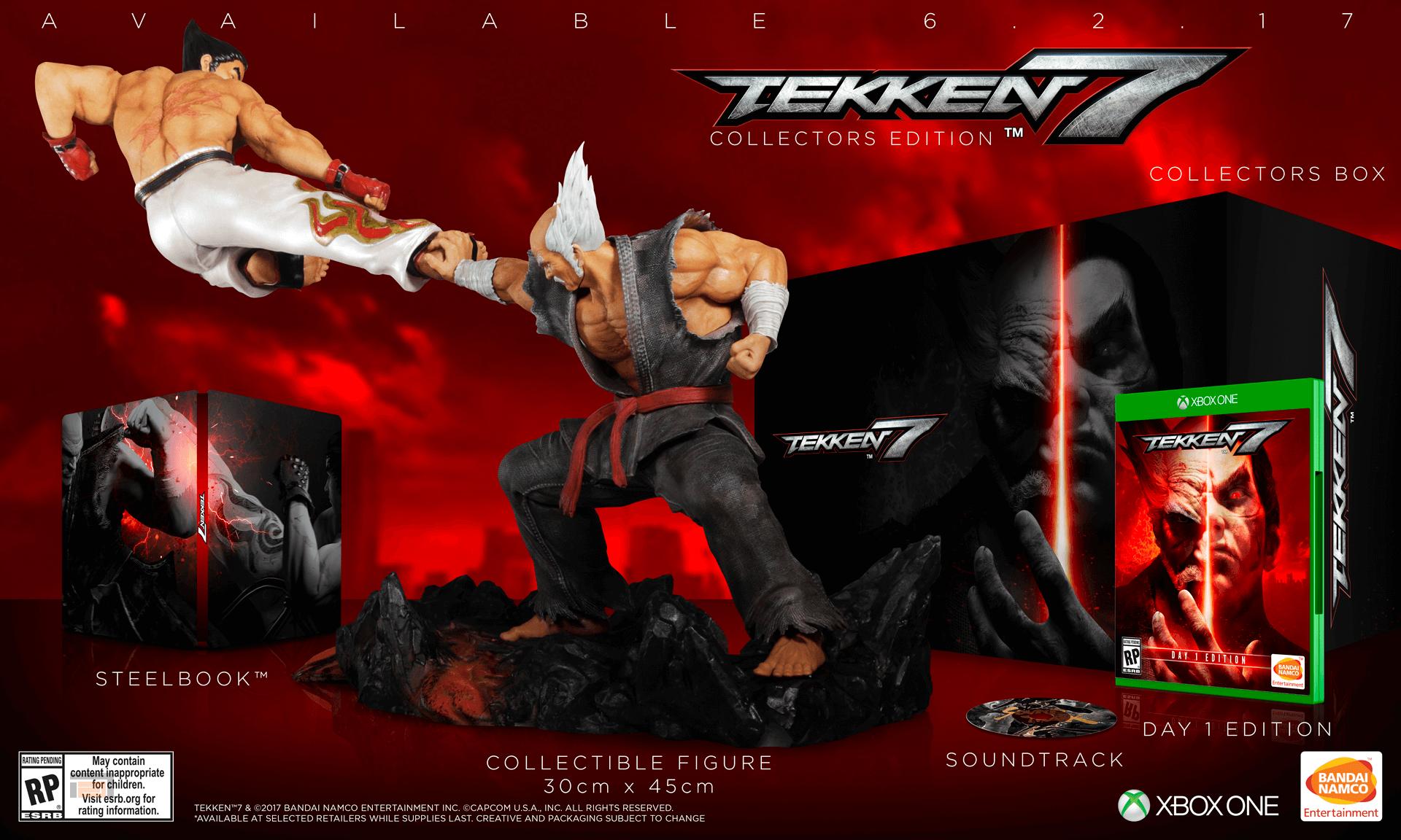 Tekken 7 coleccionista
