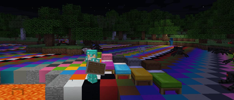 Minecraft. Snapshot 17w16a