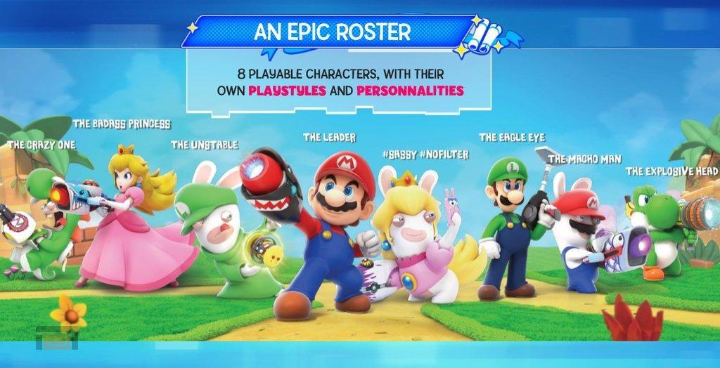 Filtrado Mario + Rabbids Kingdom Battle para Switch, otra sorpresa fastidiada para Ubisoft y Nintendo