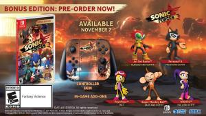 Sonic Forces bonus edicion edition