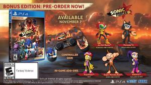 Sonic Forces bonus edicion edition