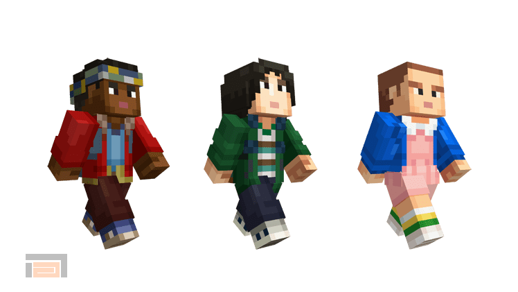 Minecraft Stranger Things