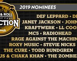 Radiohead, Def Leppard, The Cure y Rage Against The Machine nominados al Rock & Roll Hall of Fame 2019