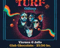 Los argentinos de Turf vuelven a Chile para celebrar su reencuentro y presentar su nuevo álbum