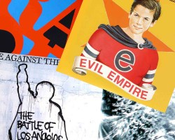 Rage Against The Machine lanzará toda su discografía en vinilo