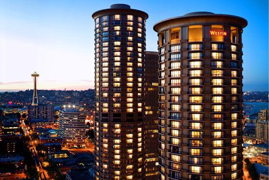 Westin Hotel in Seattle