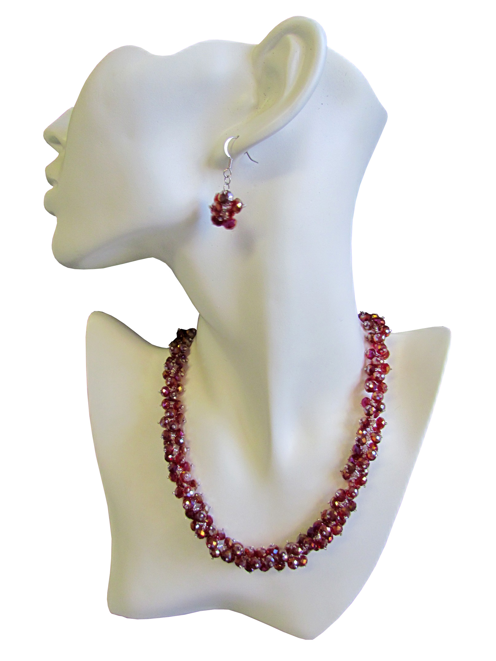 Crystal Necklace Nacre Designs