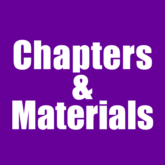 Chapters & Materials (pdf format)