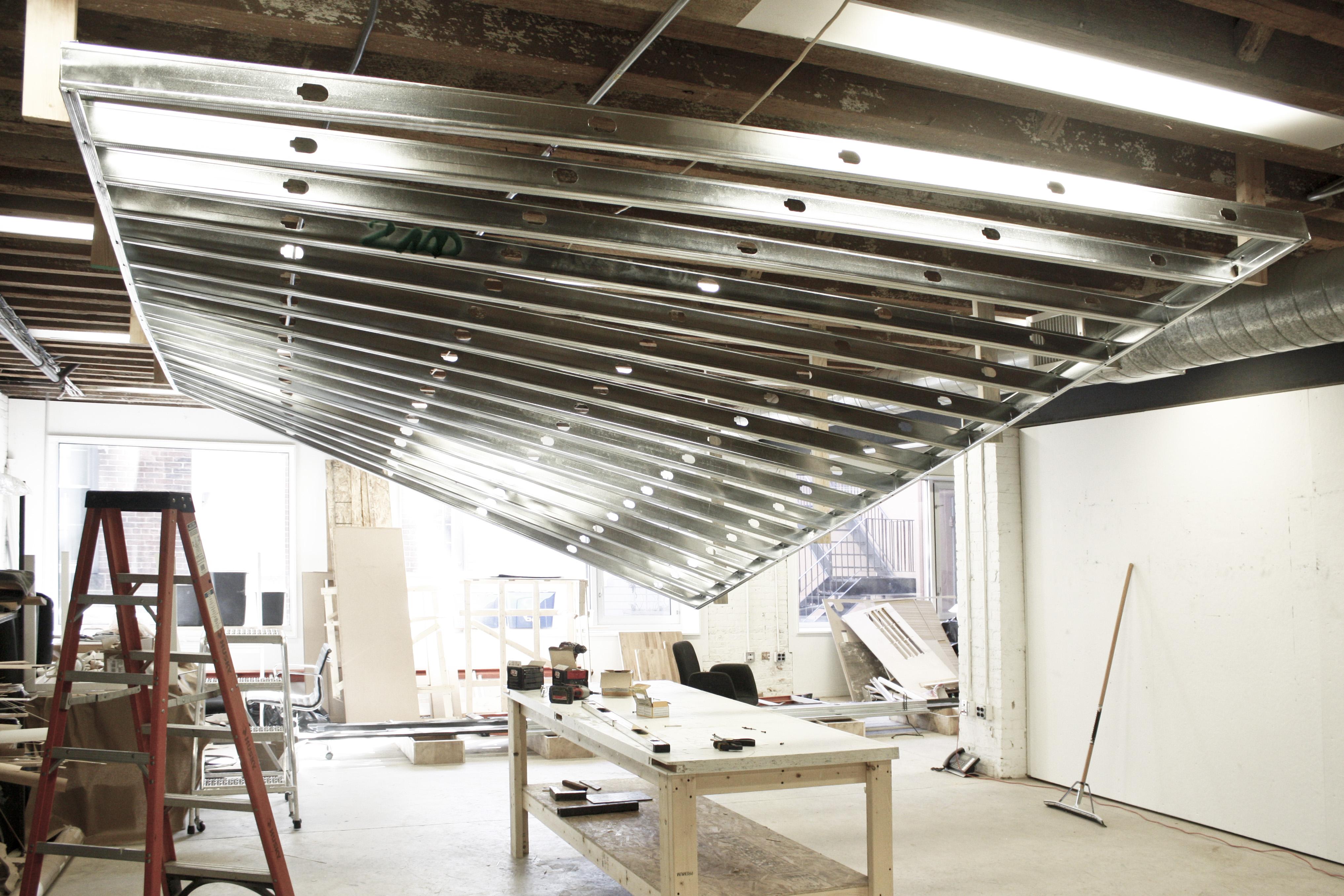 Nadaaa Blog 187 Dfald Hyperbolic Paraboloid Ceiling Mock Up