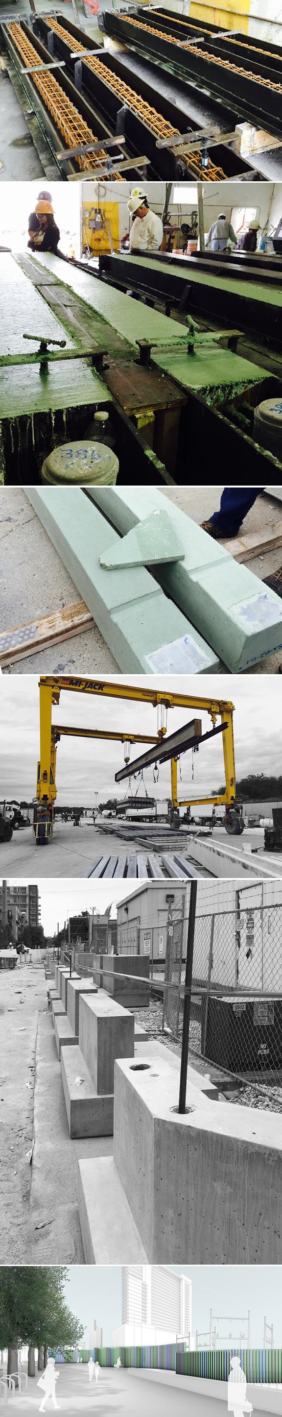 seahom piers construction