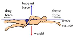 resistencias en natación