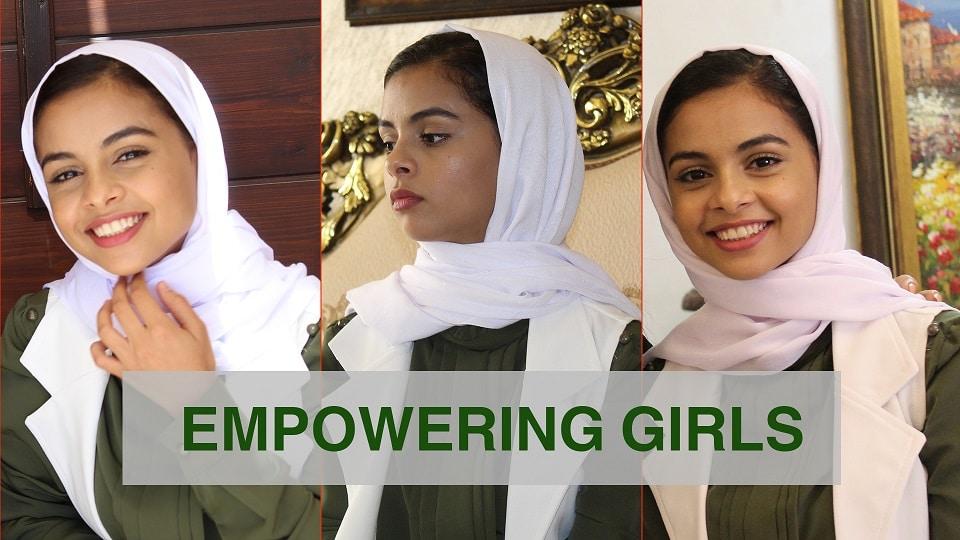 EMPOWERING GIRLS – NADA ALAHDAL