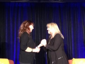Nada was invited to be a Transformational Life Coach vendor by Jennifer Mclean during Jennifer's Business Success Attunement Event in Orange County, CA. During the event, Nada had the honor of sharing the stage with Jennifer. She founded Mclean MasterWorks and is an internationally acclaimed entrepreneur, author, and creator of The Body Dialog system of healing.