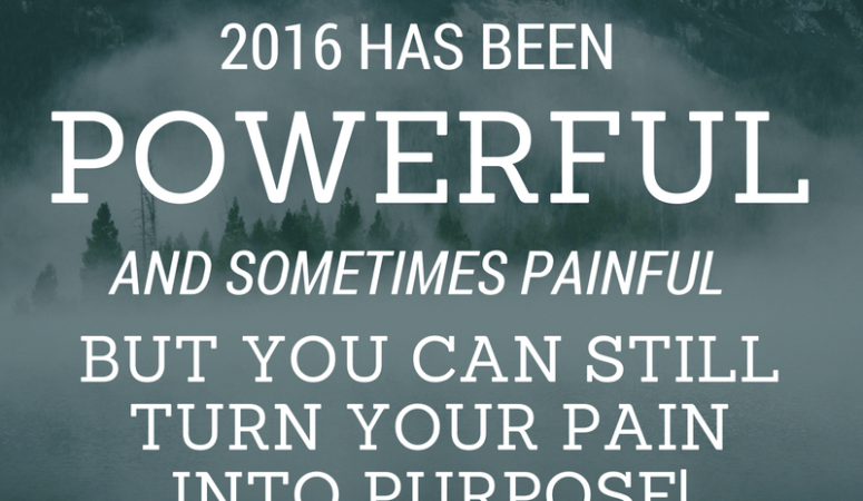 Turning Your Pain Into Purpose: Vision Workshop