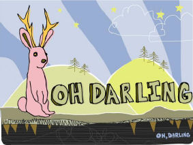 Oh Darling on www.nadamucho.com