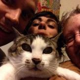 Wimps, who played the CHBP pre-party at the Cha Cha on Wednesday, were the first band to send us a cat photo