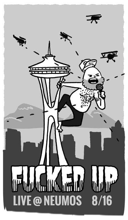 Fucked Up Seattle Matt Empson