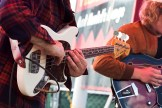 Everette guitar rock band Fauna Shade start things off on the main stage Saturday