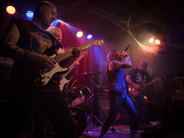 Maiden Seattle at Metalween 2014 @ The Skylark on Nada Mucho