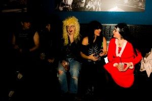 Pat Galactic with Mary Helen and Kelly from the Spider Ferns at Metalween 2014 @ The Skylark on www.nadamucho.com