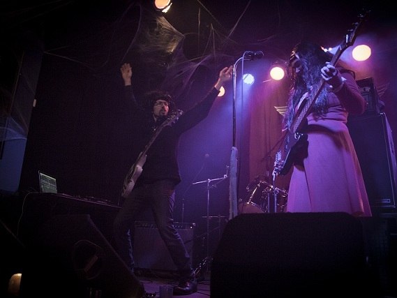 The Spider Ferns as Witch Planet at Metalween 2014 @ The Skylark on www.nadamucho.com